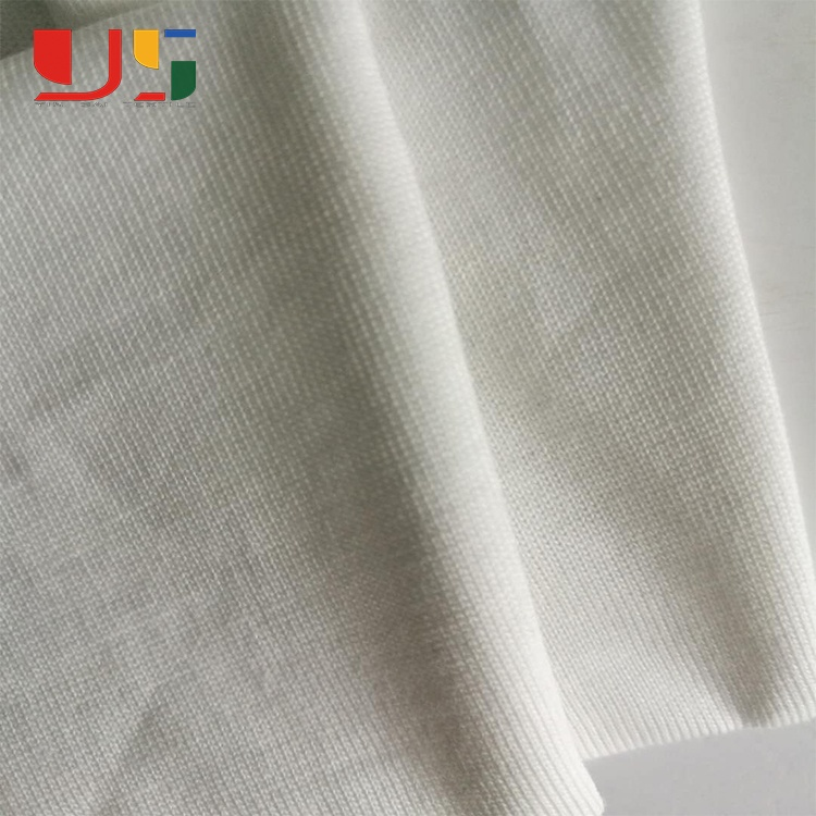 Printed knitted weft jersey wholesale 100% cotton fabric for t-shirt