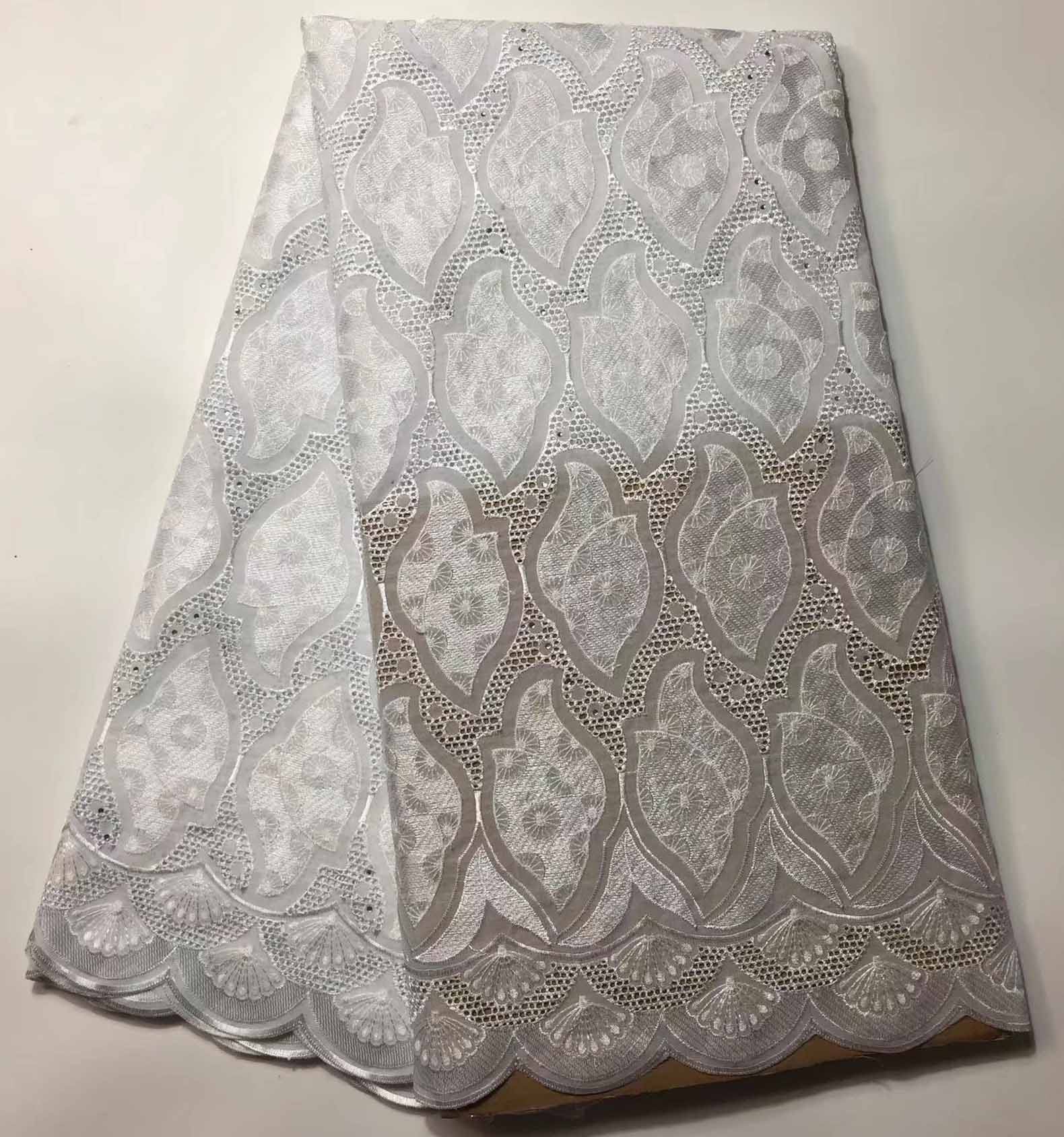 burgundy swiss voile lace high quality fabric for wedding party dress