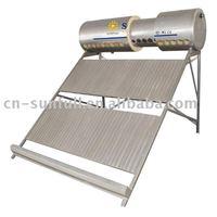 Non-pressure domestic solar water heater