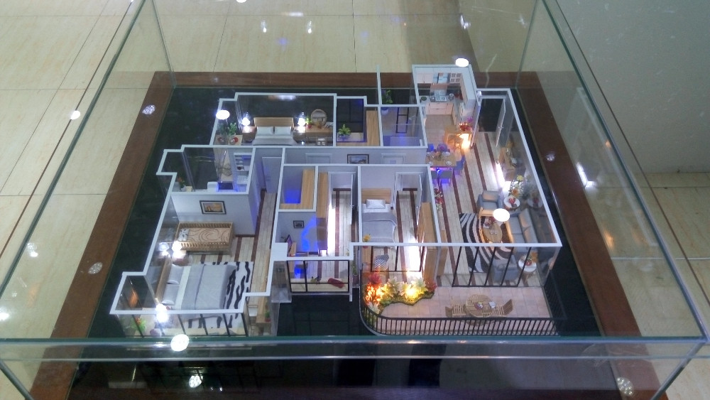 New Item Scale 125 Architecture Model Interior 3D For Display