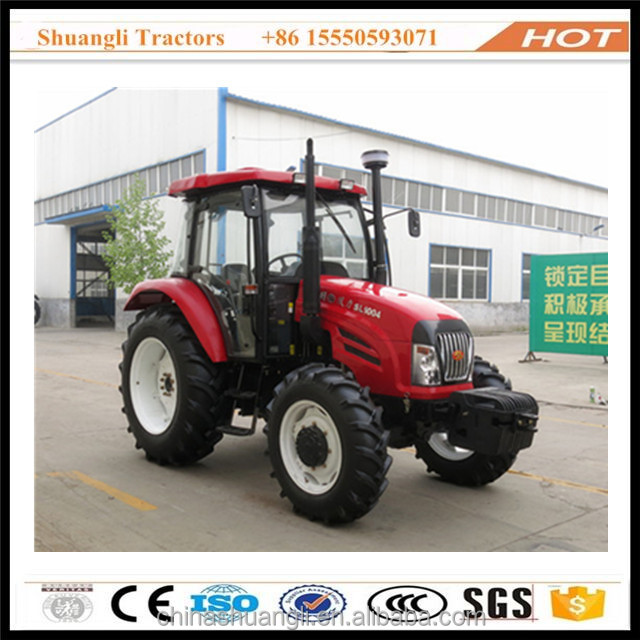 China electric starting tractor 100hp 4wd with cab air conditioner