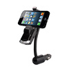 5 in 1 Multi-function wireless bt car kit with car charger mp3 fm transmitter car holder Handsfree Calling