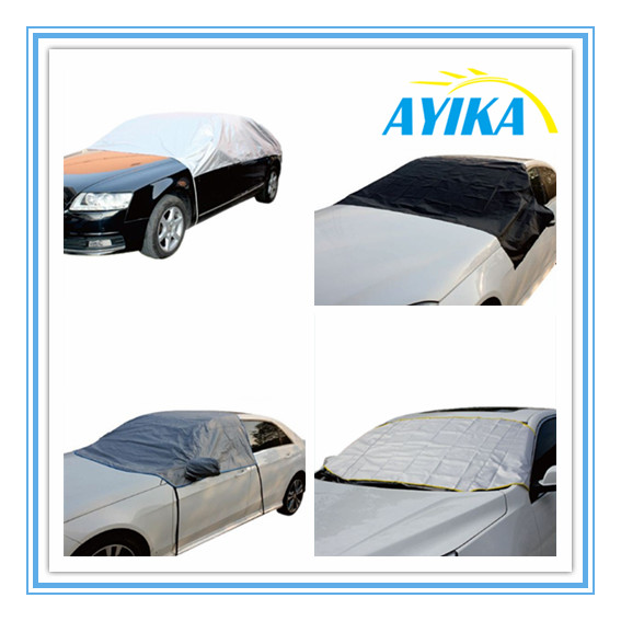 Auto Windshield UV Ray Deflector Polyester 190T Fits Normal and Large Car Sunshade