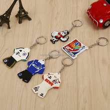 Custom soft rubber pvc keychain / 3D rubber keyring/ PVC key chains
