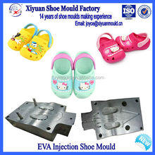 Latest Girl Cute Design EVA Garden Shoe Aluminum Mould Die