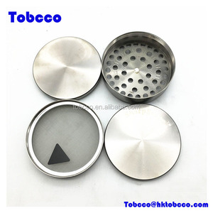 100mm Custom Tobacco Grinder Weed Wholesale Sharpstone Herb Grinder