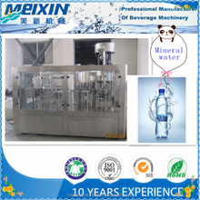Full Automatic mineral water / pure water bottling plant , water filling machine