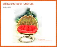 Indoor outdoor retro hanging egg chair patio furniture