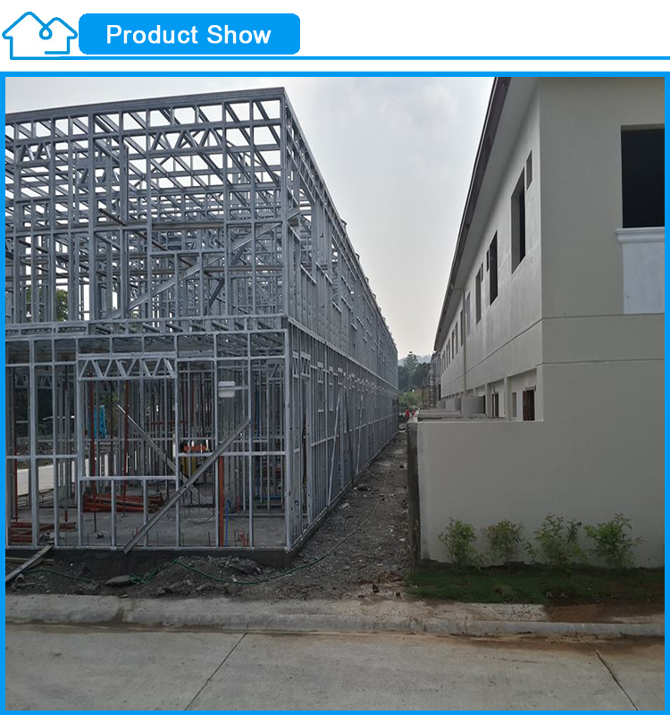 Low Cost Apartment: China 2015 High Quality Steel Frame Apartment Building