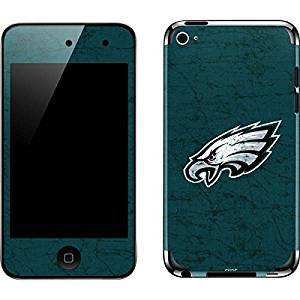 NFL Philadelphia Eagles iPod Touch (4th Gen) Skin - Philadelphia Eagles Distressed Vinyl Decal Skin For Your iPod Touch (4th Gen)
