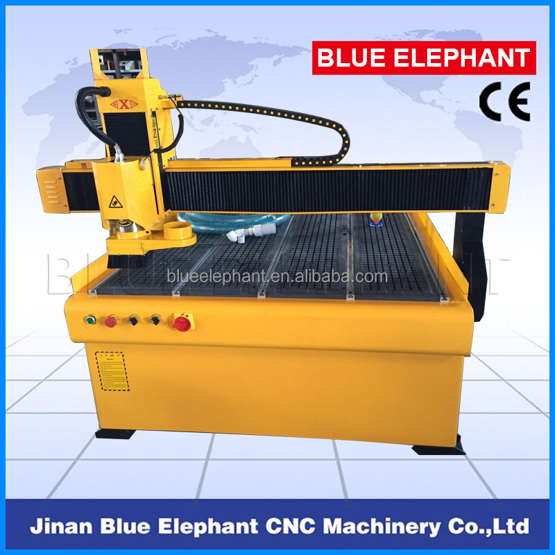 Hot Selling Advertising Industry Machine ELE1212 CNC Router with 3kw Water Cooling Spindle