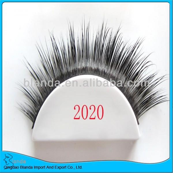 Handmade Charming Eyes Glitter False Eyelashes Dense Glitter Lashes
