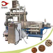 Top quality puffed floating fish feed pelletizer machine