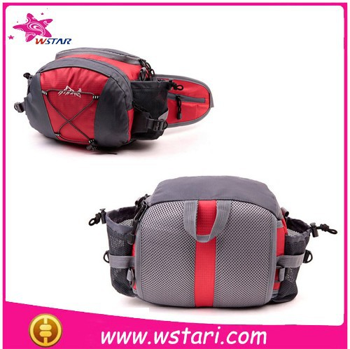 Simple Design Sport Waist Pouch , Unisex Waist Bag