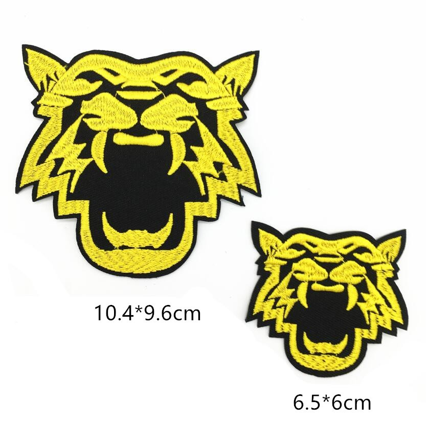 a8775ec94af8 Embroidery Gold Tiger Patch Of Iron On Clothing Brand Patch Animals  Applique Sew On Diy Jeans & Shoes Embroidered Patches P704 - Buy  Patches,Cheap ...