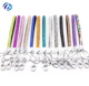 Promotion Cheap Price Multi Color Bling Rhinestone Crystal Office Short Wrist Keychain Lanyards