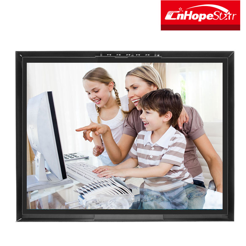 "20 inch lcd monitor 1600x1200 lcd monitor industrial 20"" monitor open frame industry machine"