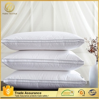 Short time delivery customized White goose down pillow 100