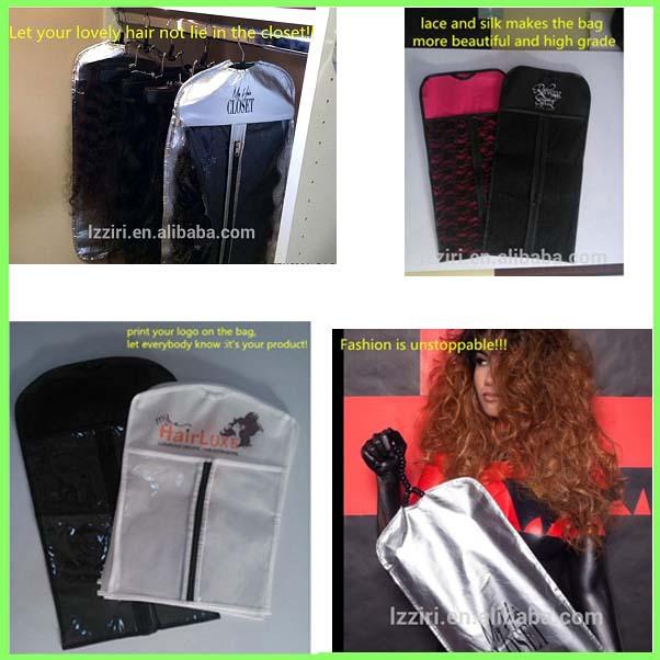 Black custom hair extension bags soft satin bags hairhuman hair black custom hair extension bags soft satin bags hairhuman hair package wave super pmusecretfo Choice Image
