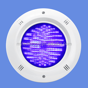 Recessed ABS Vinyl And Concrete Pool Light Resin Filled 30W WW CW RGB LED  Swimming Light