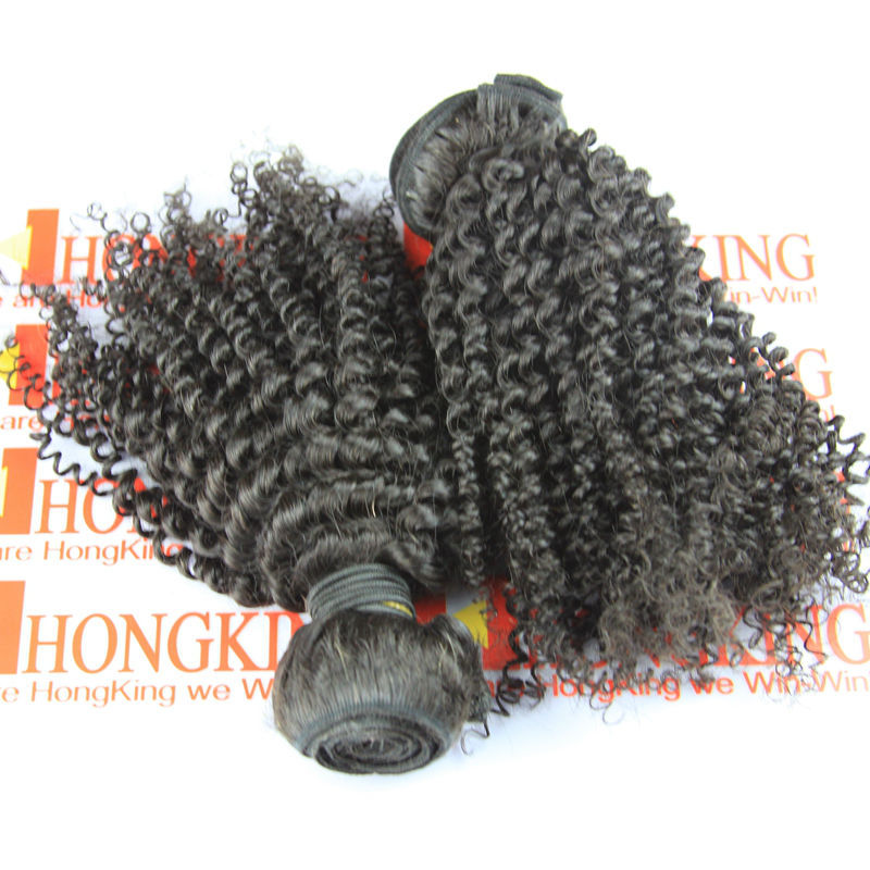 Wholesale High Quality hair extention 100% mongolian kinky curly hair afro kinky hair extensions