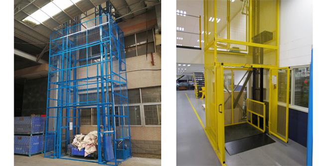1000kg Electric Hydraulic Cargo Freight Elevator Warehouse Lift