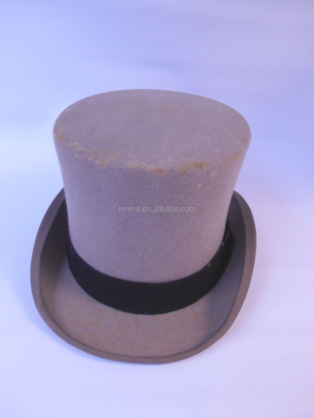 150e0962c2d Hot sale carnival party hat men s black round top hat with cheap price  HT2247