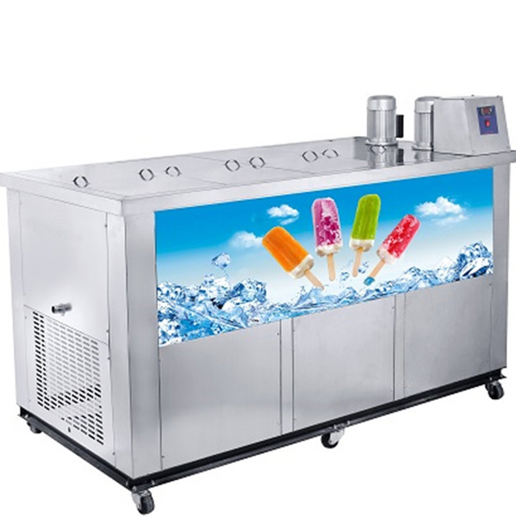 Commercial Paleta Ice Pop Popsicle Ice Lolly Making Machine For Sale