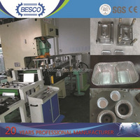 High Accuracy aluminium foil container pneumatic punch machine with CE ISO