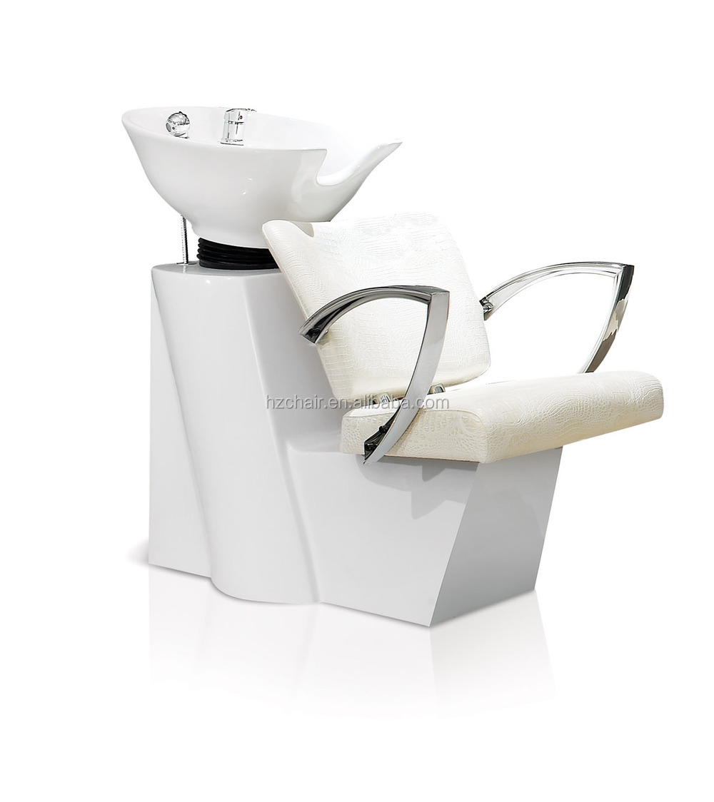 White hair salon chairs - 2015 Modern Salon Combination Furniture Durable Hair Styling Chairs Stainless Steel Mirror Station