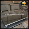 Black Granite Stone Fireplaces Hearths for Wood Stove Ethanol Fireplce