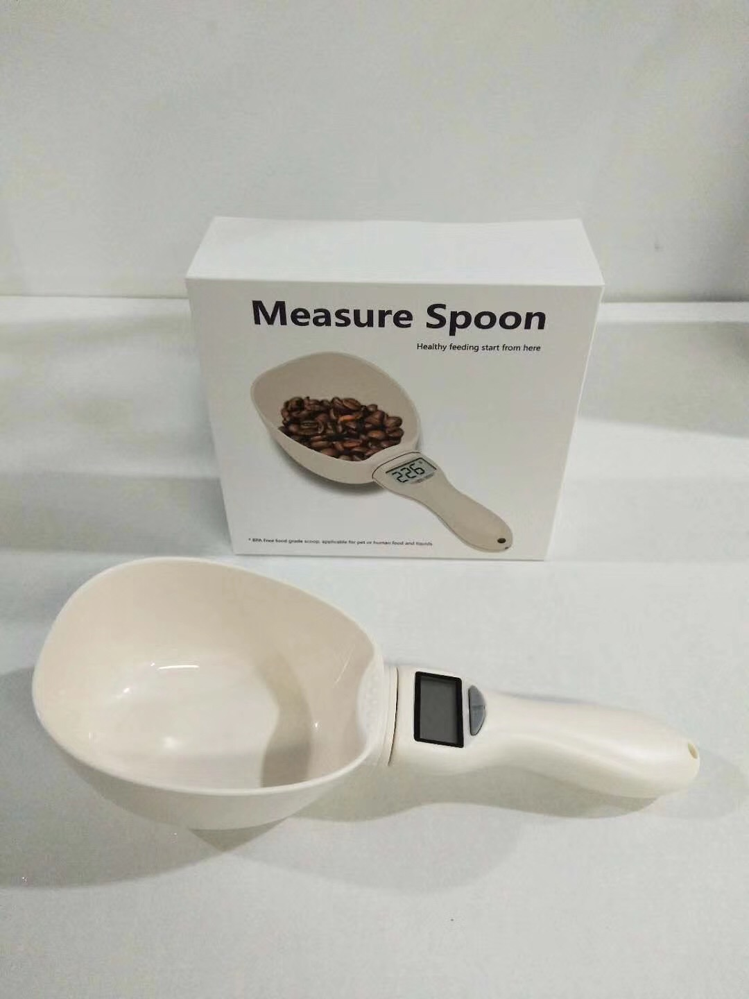 2019 Newest Multi-Function Foods Measuring Spoons Water Measuring Cup Dog Cat Pet Food Scoop Spoons