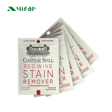 Individuele verpakt stain remover cleaning <span class=keywords><strong>doekjes</strong></span> voor kleding