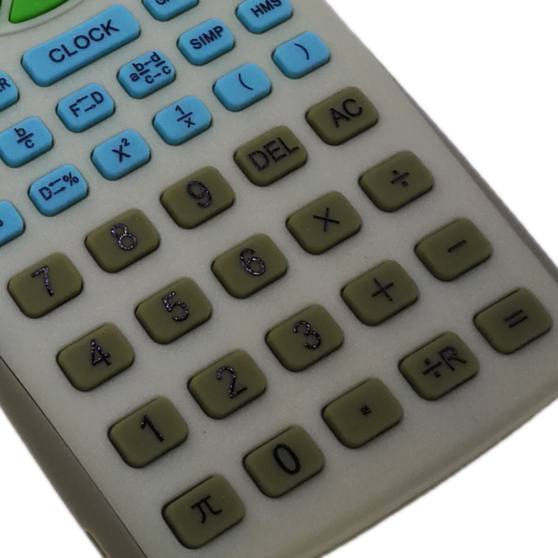 Battery Power Source and General Purpose Calculator Style 10 digit calculator