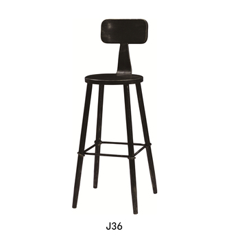 2e0566e21568 Best price bar furniture Adult high chair Wooden bar chair for sale J36