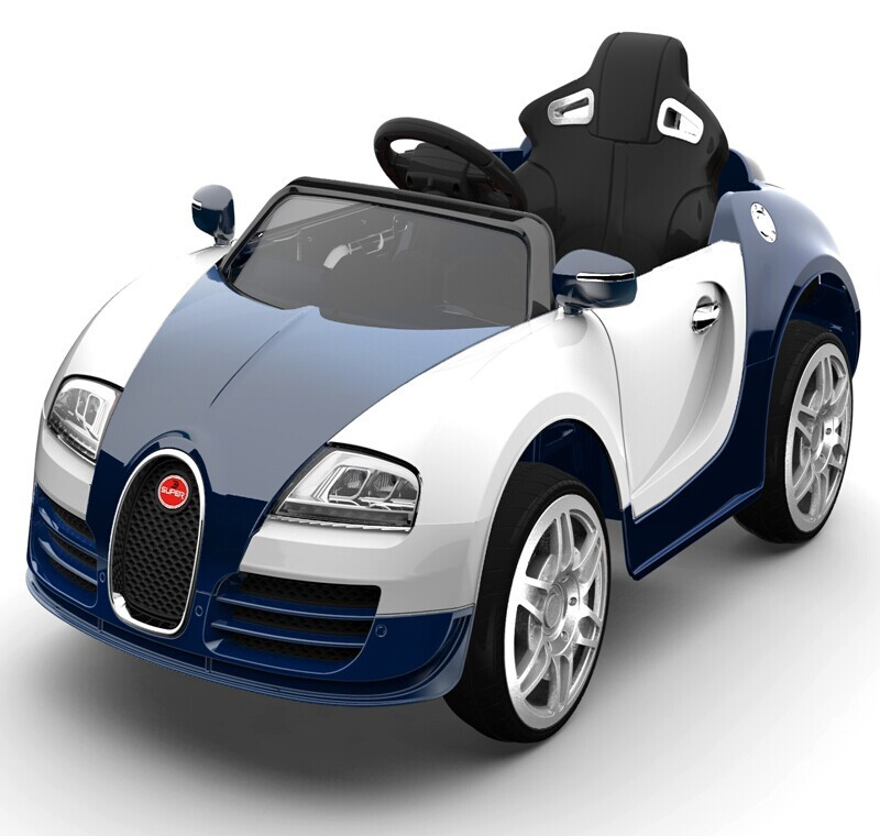 Electric Blue Car For Kids