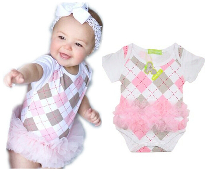 ea6725a9d Buy Retail 2015 Plaid baby costume Baby Boy Romper infant one Piece ...
