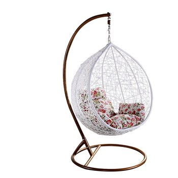 Swing Egg Stoel.Living Room Indoor Indian Adult Jhoola Swing Rattan Wicker Hanging