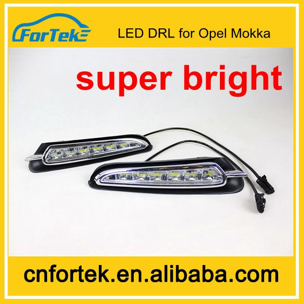 China Wholesale ATV Car Accessory Led DRL Flexible Daytime Running Light Used for Opel Mokka