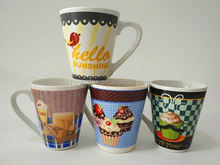 Customized dog chinaware cup for lover