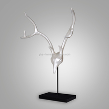 abstract figurines decor resin deer furnishing articles for home decoration