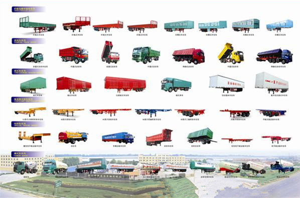 china truck trailer supplier 60 tons widely used lowbed