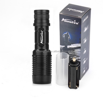 Wholesale Alonefire H230 XM-L T6 LED Flashlight led torch zoomable ...