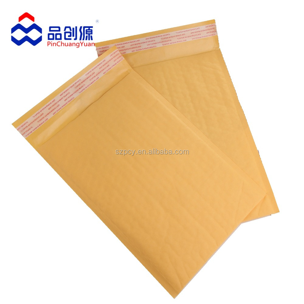 Kraft paper buffer protection express bubble bag