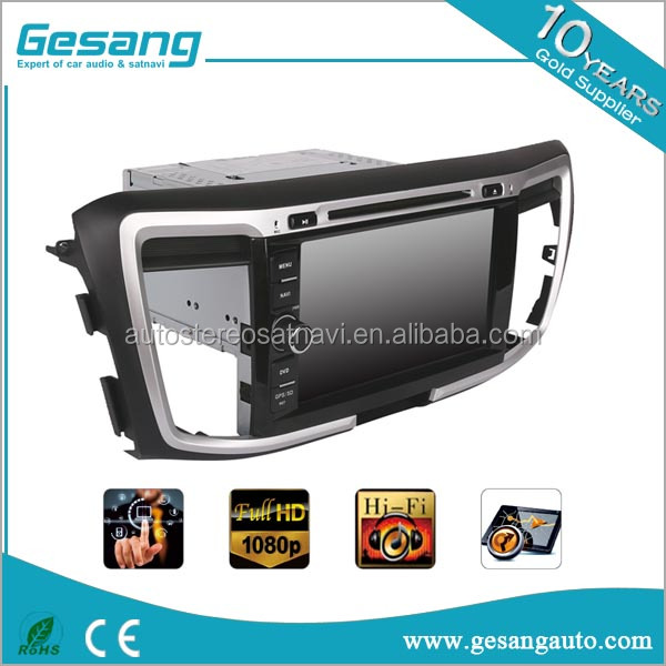 Newnavi Capacitive touch screen car dvd player for honda accord 9