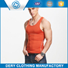 High Quality Lycra Athletic tank top in lycra polyester material