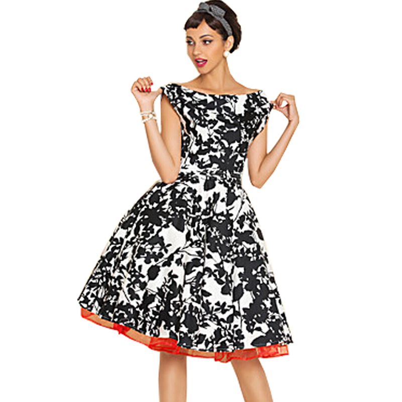 Womens Retro Style Dresses With Perfect Image Playzoa Com