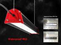 UL DLC surface wall mounted linear led high bay warehouse halogen wall mounted light fixtures