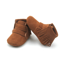 <span class=keywords><strong>Botas</strong></span> <span class=keywords><strong>de</strong></span> Inverno <span class=keywords><strong>de</strong></span> couro Camurça projeto Baby First Walker Crianças <span class=keywords><strong>Botas</strong></span> <span class=keywords><strong>De</strong></span> <span class=keywords><strong>Neve</strong></span> Borla