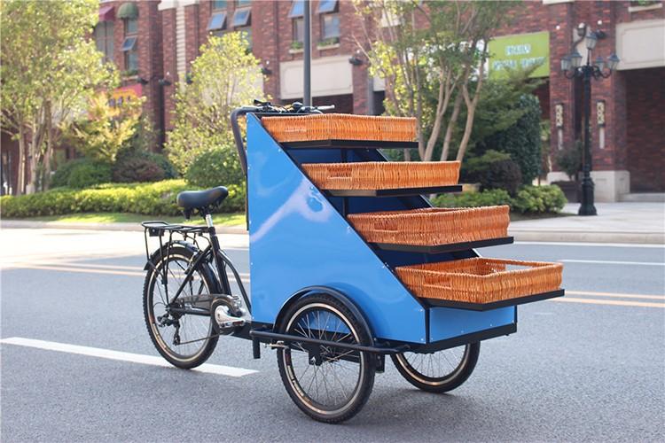 CE certificate bike food cart /food bike